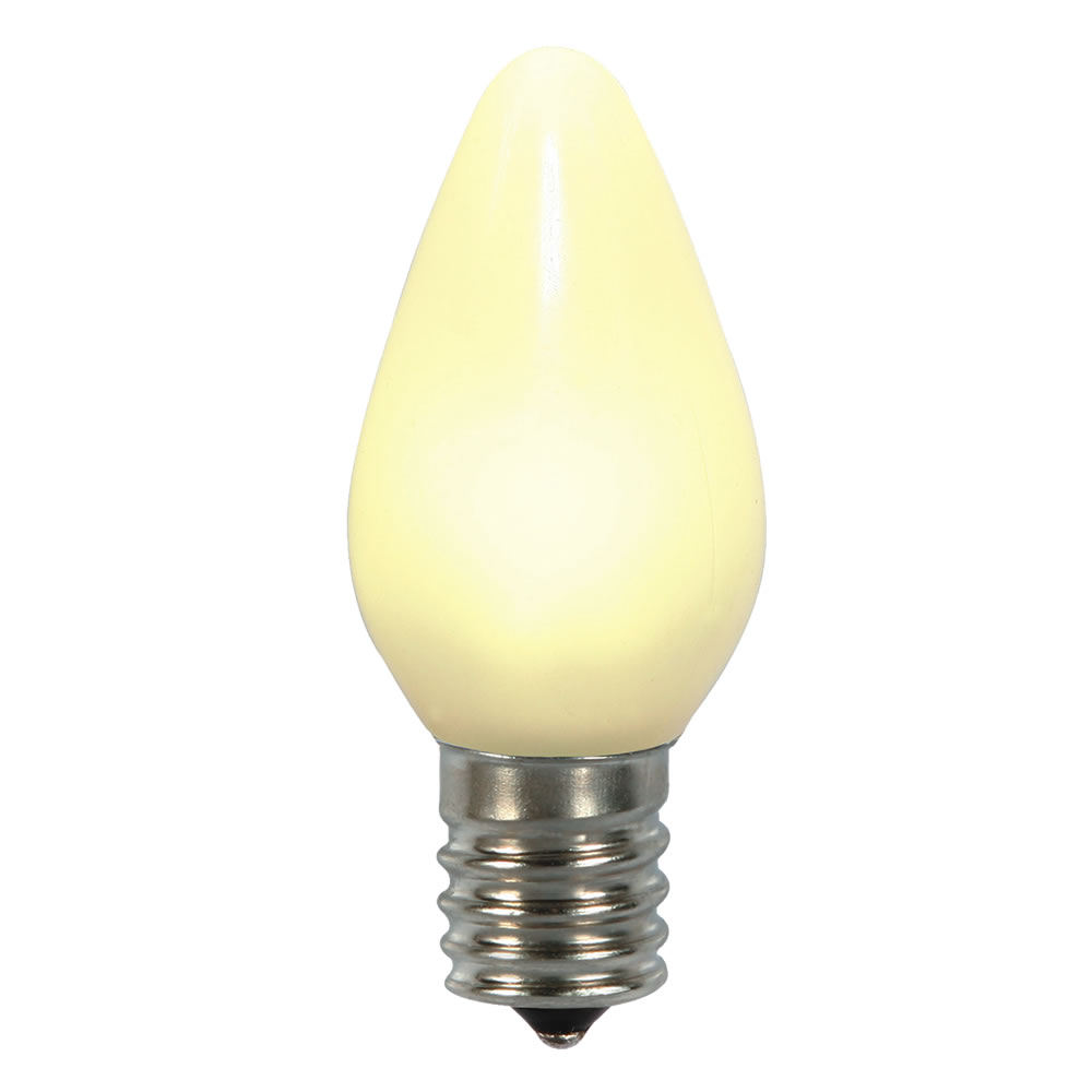 5 LED C7 Warm White Ceramic Retrofit Replacement Bulbs