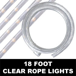Clear Rope Lights 18 Foot