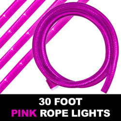 Sakura Pink Rope Lights 30 Foot