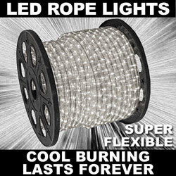 150 Foot Clear LED Rope Lights