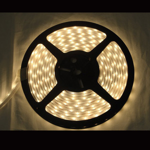 153 Foot Dimmable LED White Tape Lights - 4 Wire