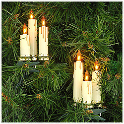 5 Candle Cluster 15 Amber Incandescent Novelty Light Set
