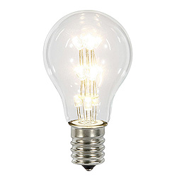 25 A19 LED Warm White Transparent Retrofit Replacement Bulb E26 Nickle Base