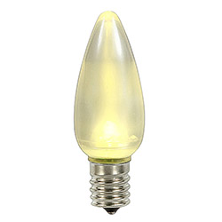 25 LED C9 Warm White Ceramic Retrofit Replacement Bulbs