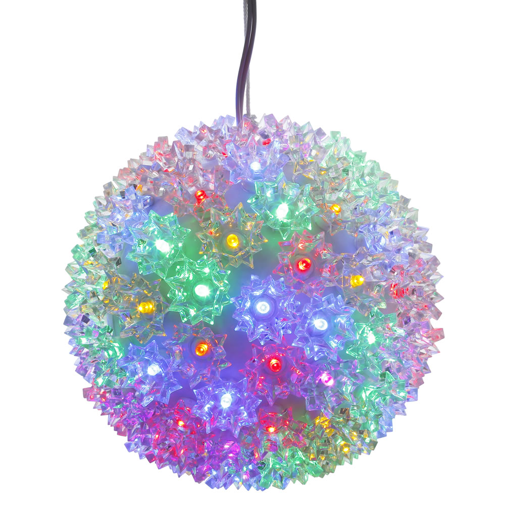 50 LED 5MM Wide Angle Polka Dot Starlight Sphere Multi Color Lights